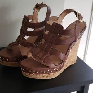Women's Steve Madden Cork Wedge Sandals